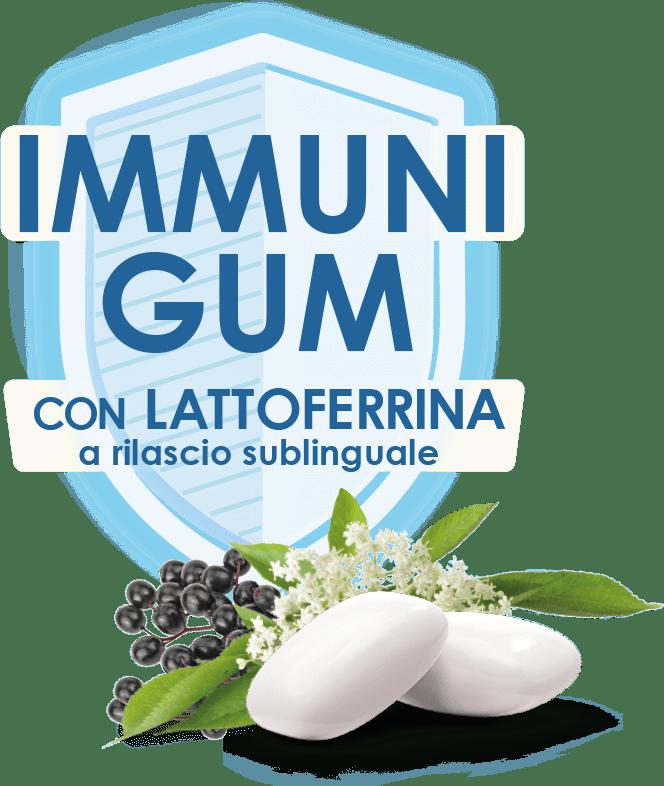 immunigum con lattoferrina